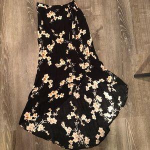 AE floral maxi skirt